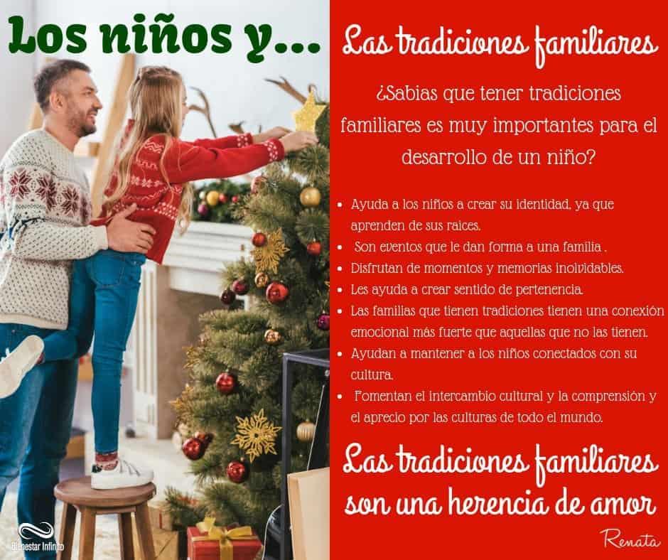 Los niños y las tradiciones familiares