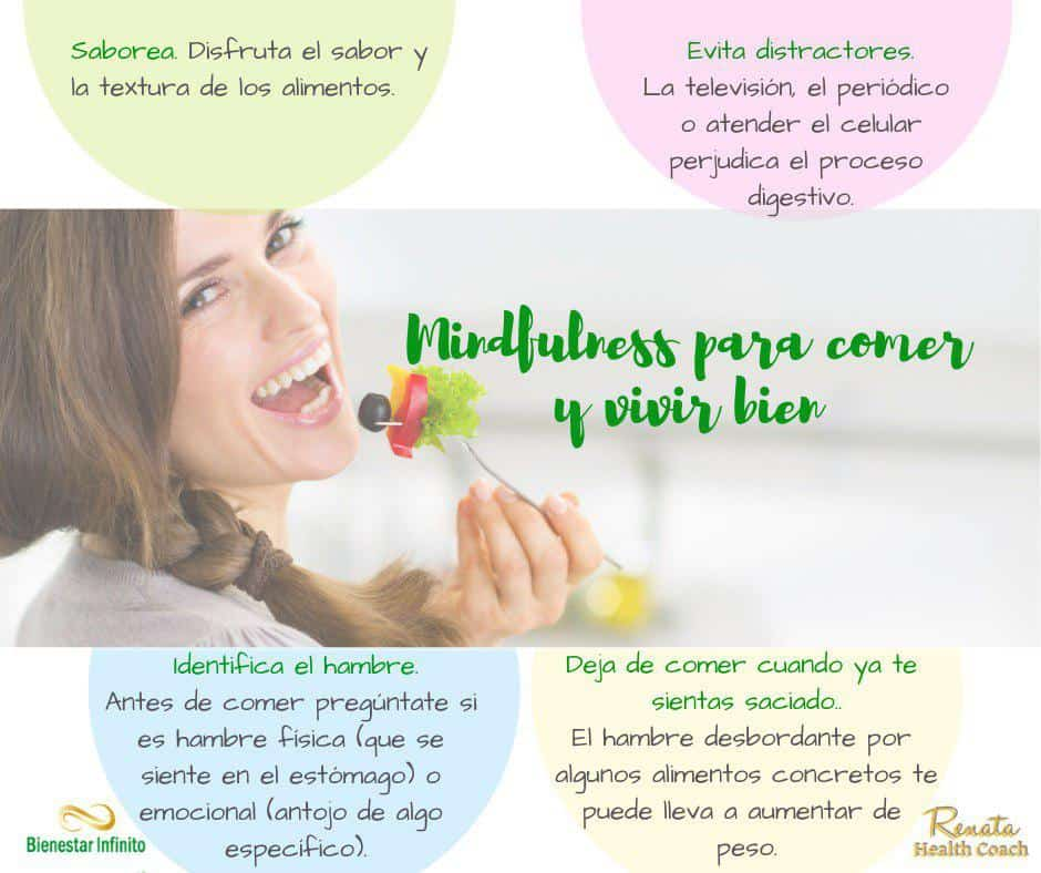 Mindfulness para comer y vivir bien