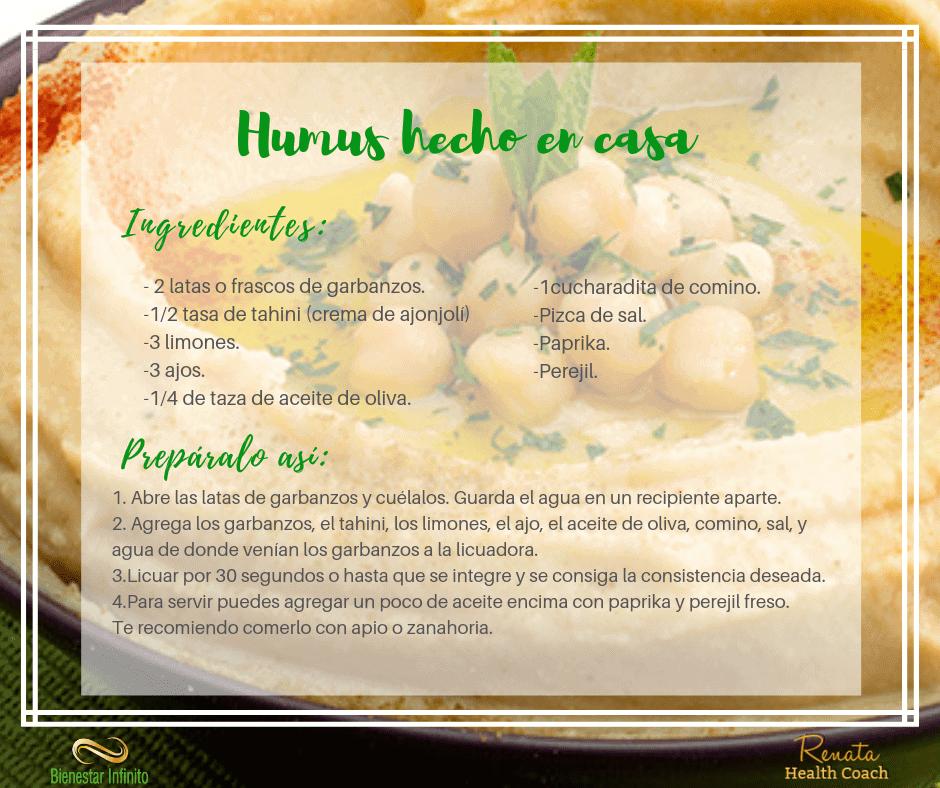 Hummus hecho en casa