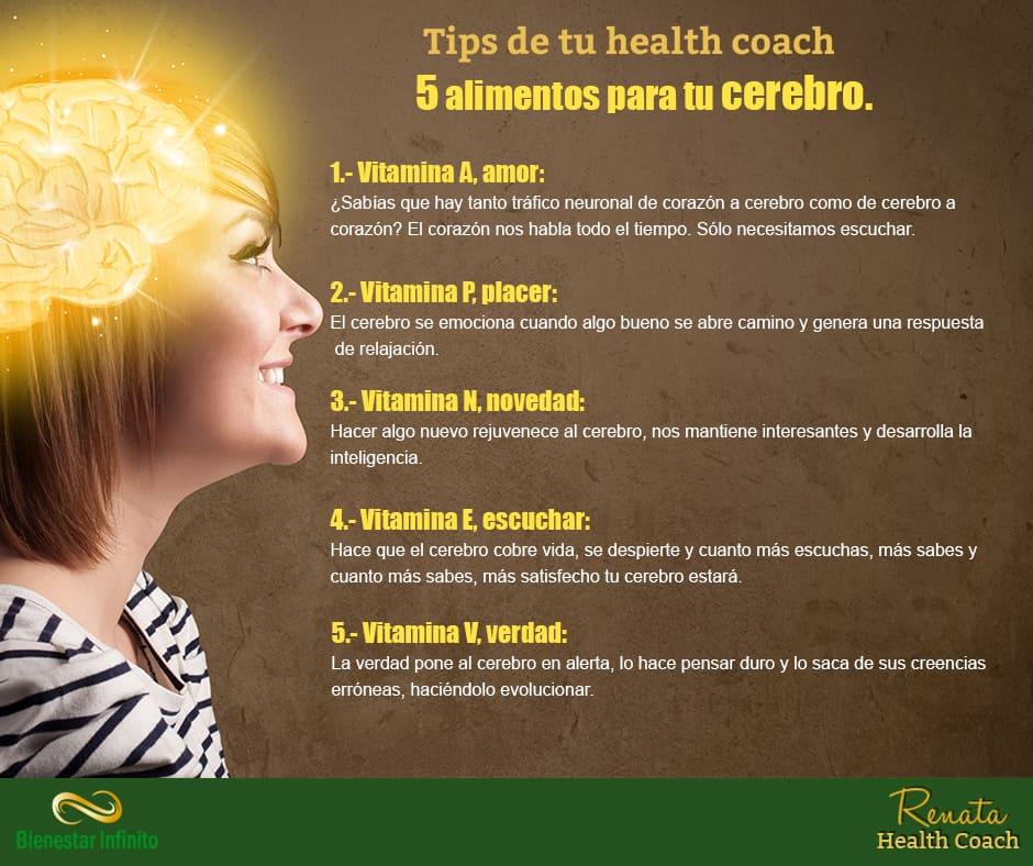 5 alimentos para tu cerebro