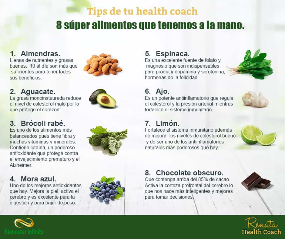 8 super alimentos que tenemos a la mano