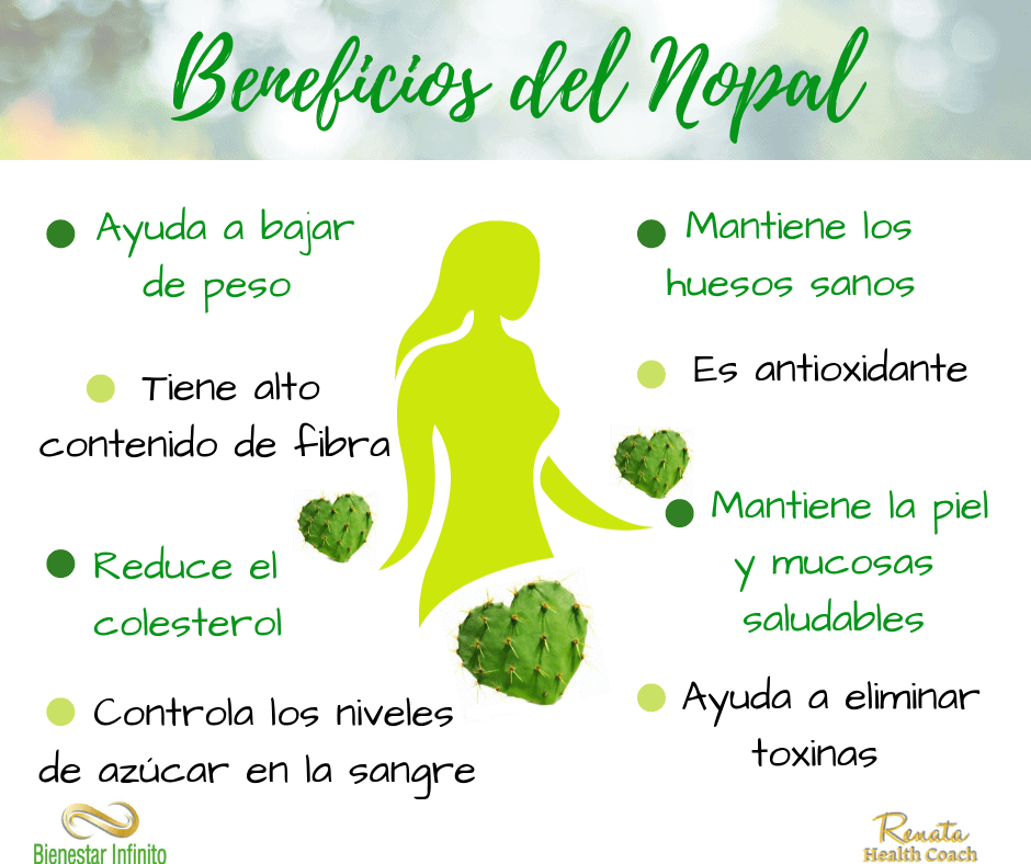 Los beneficios del nopal