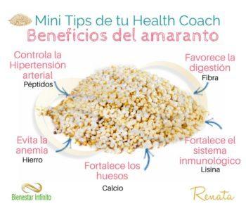 Beneficios del amaranto