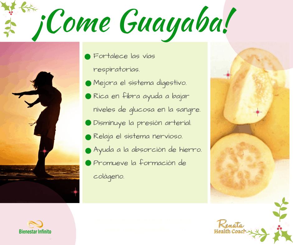 Come guayaba