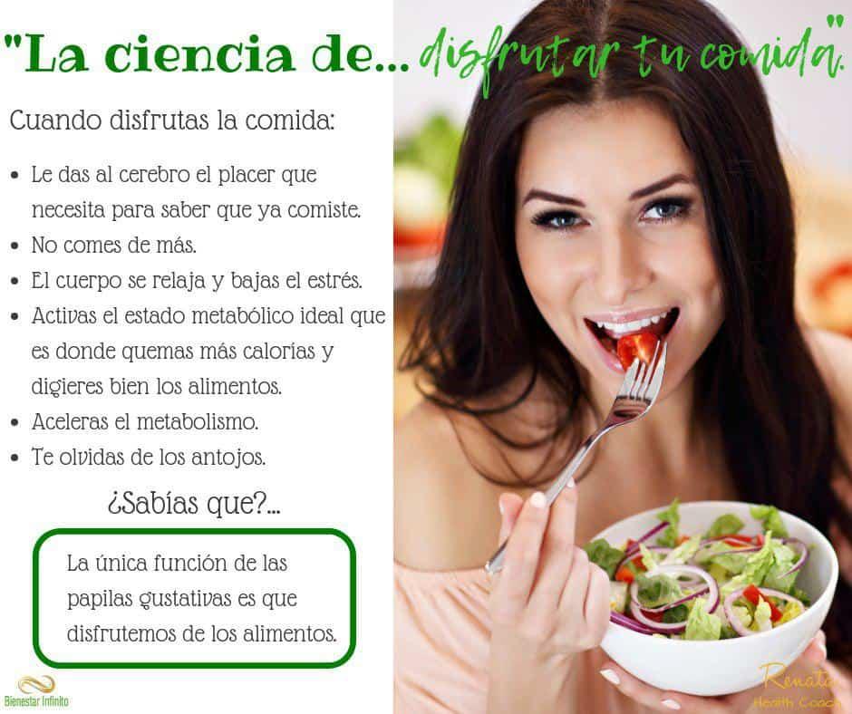 La ciencia de disfrutar la comida