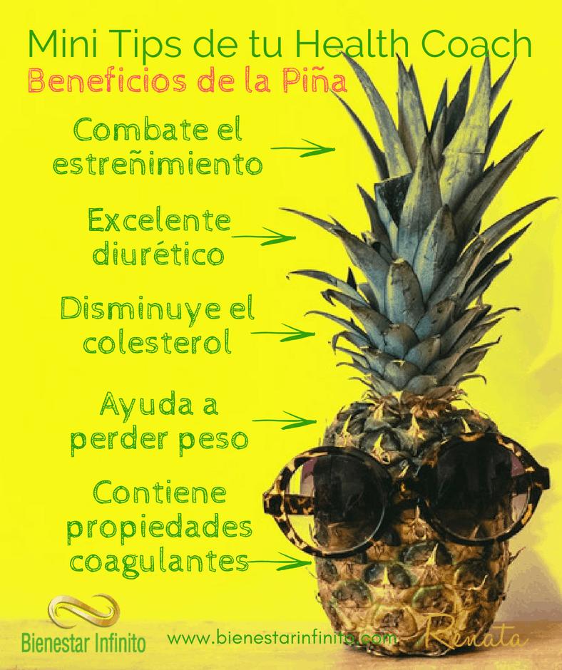 Beneficios de la piña