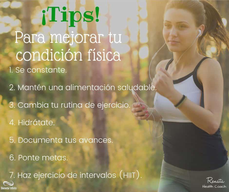 Tips para mejorar tu condición física