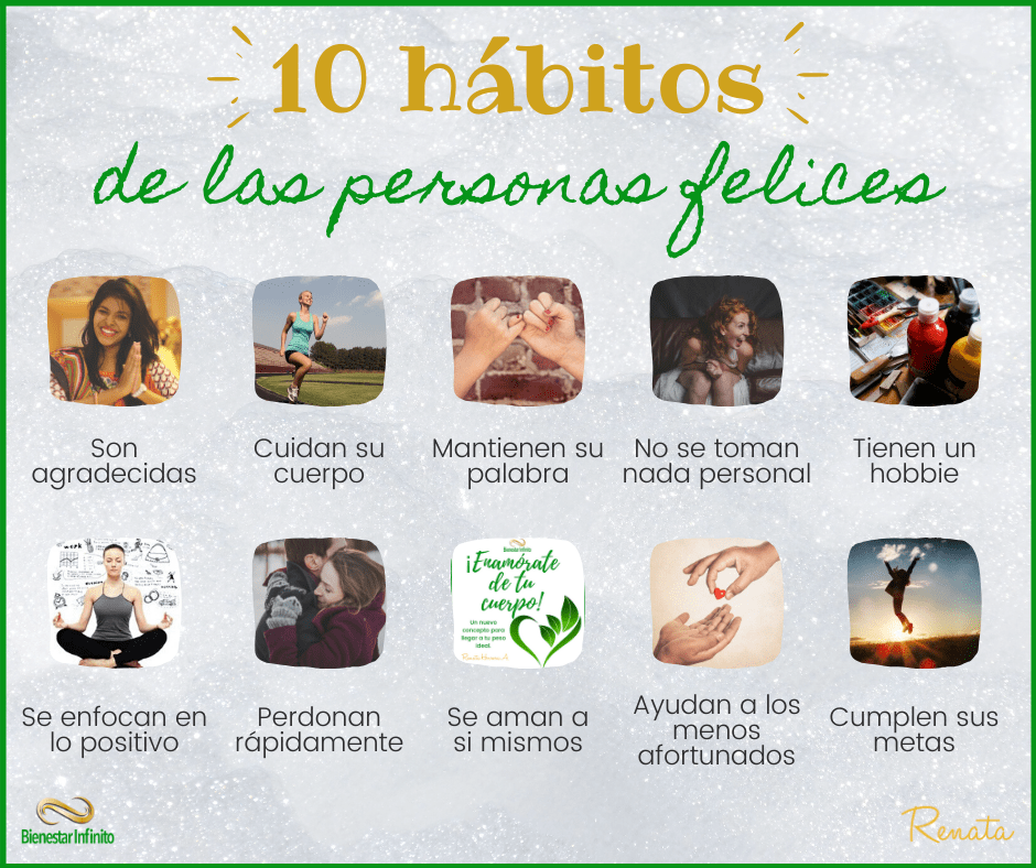 10 habitos de las personas felicies