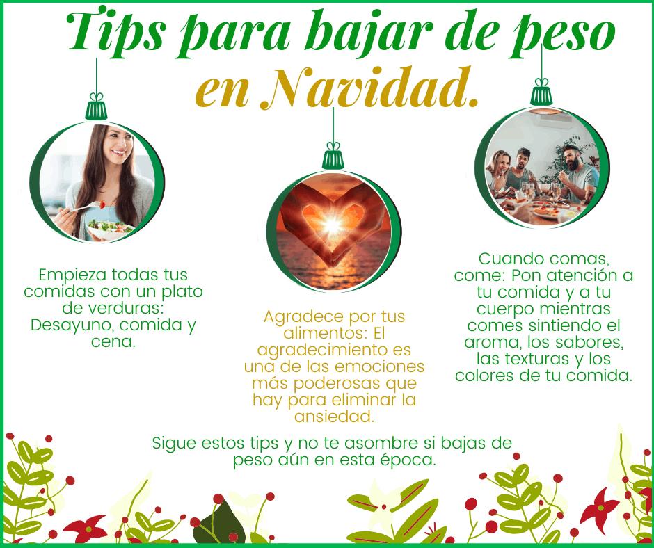 Tips para bajar de peso en navidad (2)