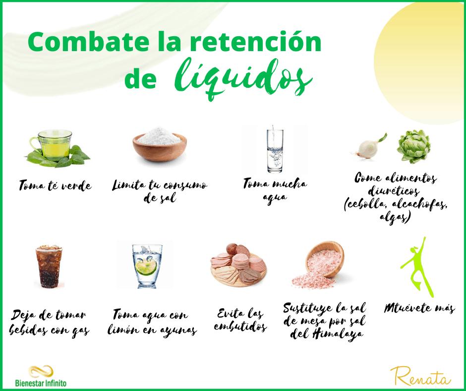 combate la retencion de liquidos